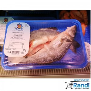 Лаврак чистен пресен охладен Морски дар 16.89лв./кг.- обявената цена е за 600гр.