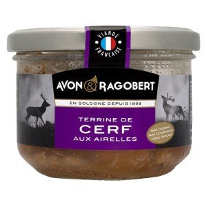 Терин от еленско месо с червени боровинки Avon&Ragobert Франция 180гр.