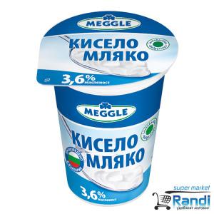 Краве кисело мляко Meggle 3,6% 400гр.