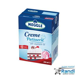 Сладкарски крем за разбиване подсладен Meggle 200мл.