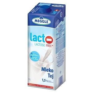 Прясно мляко без лактоза 1,5% Meggle 1л.