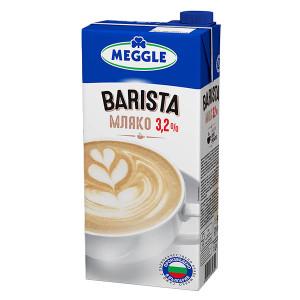Прясно мляко Barista UHT Meggle 3.2% 1л.