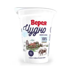 Кисело мляко Верея Чудно 5% 400гр.