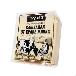 Кашкавал от краве мляко Пъстрогор 250гр.