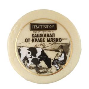 Кашкавал от краве мляко Пъстрогор 400гр.