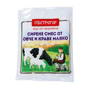 Сирене смес от краве и овче мляко Пъстрогор 200гр.