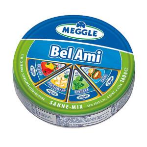 Топено сирене Bel Ami Meggle микс 140гр.