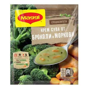 Крем супа от броколи и моркови Maggi 52гр.