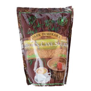 Кафява тръстикова захар Demerara-Dark 500гр.