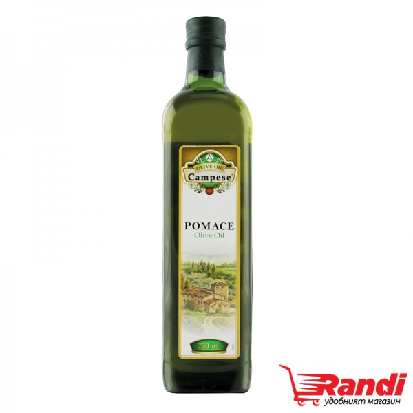 Маслиново масло от масл. кюспе Campese Pomace 750мл.