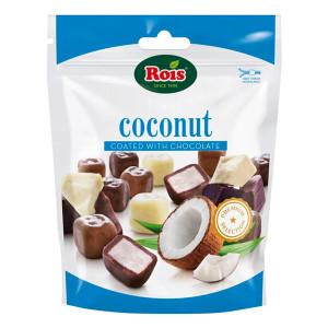Кокосови топчета покрити с шоколад Rois 100гр.