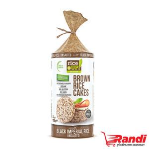 Оризови бисквити с кафяв ориз  без сол Rice Up 120гр.