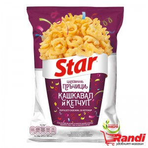 Star Snacks Кашкавал и Кетчуп 80гр.