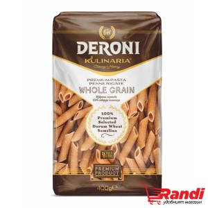 Макарони Kulinaria Whole Grain - пълнозърнести Дерони 400гр.