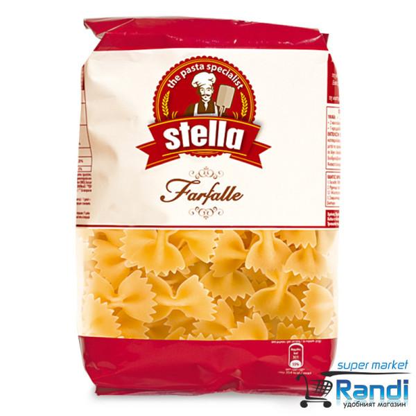 Макарони Фарфали панделки Stella 500гр.
