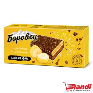 Тунквани бисквити Боровец с бананов крем 252гр.