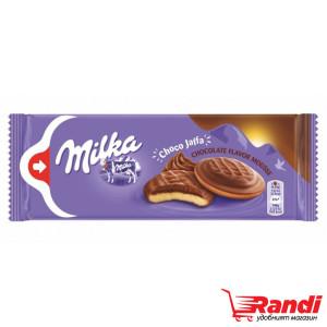 Бисквити Milka choco jaffa шоколадов мус 128гр.