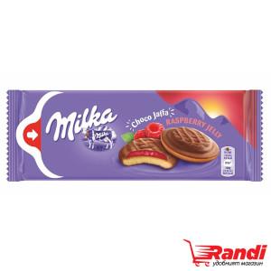 Бисквити Milka choco jaffa малина 147гр.