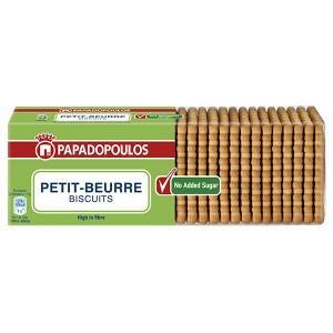 Бисквити Papadopoulos petit-beurre без захар 225гр.