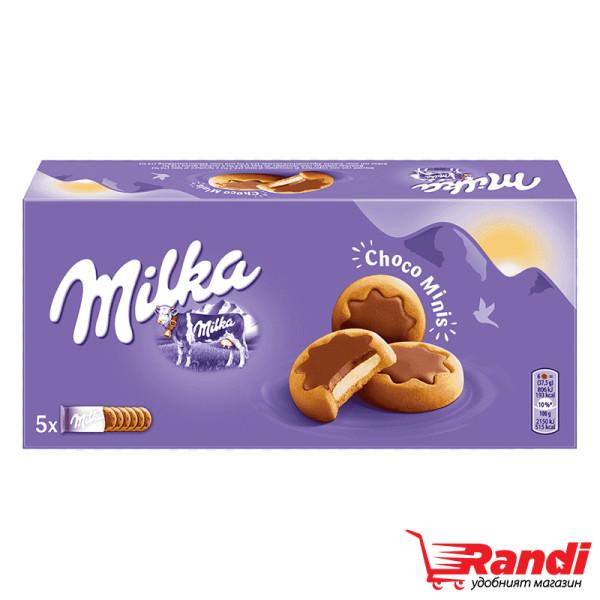 Бисквити Milka choco minis 150гр.