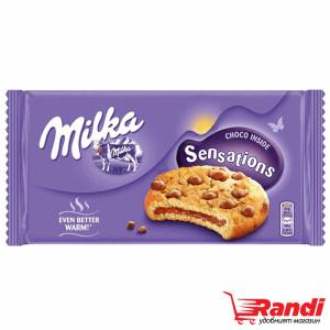 Бисквити Milka Sensations cookie 156гр.
