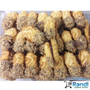 Сладки Петифури - слепени бисквити 12,90лв./кг. - Предложената цена е за 250гр.