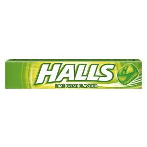Бонбони Halls lime 33.5гр./20бр.