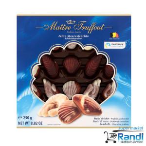 Шоколадови бонбони Морски дар Maitre Truffout 250гр.