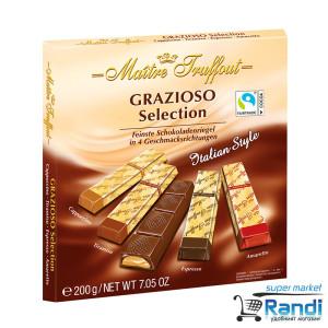 Шоколадови бонбони Maitre Truffout Grazioso 200гр.