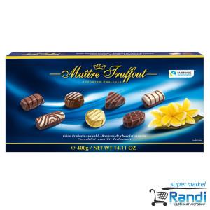 Шоколадови Бонбони Maitre Truffout assorted pralines 400гр.