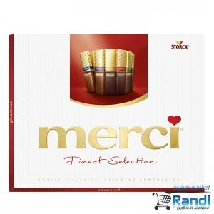 Бонбони Merci червено 250гр.