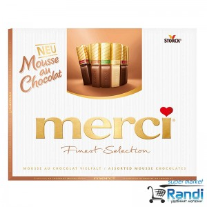 Бонбони Merci mousse - мус 210гр.