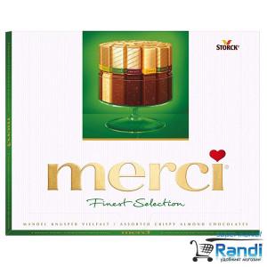 Бонбони Merci mandel - зелено 250гр.