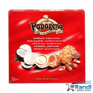 Бонбони Papagena кокос и фъстък 300гр.