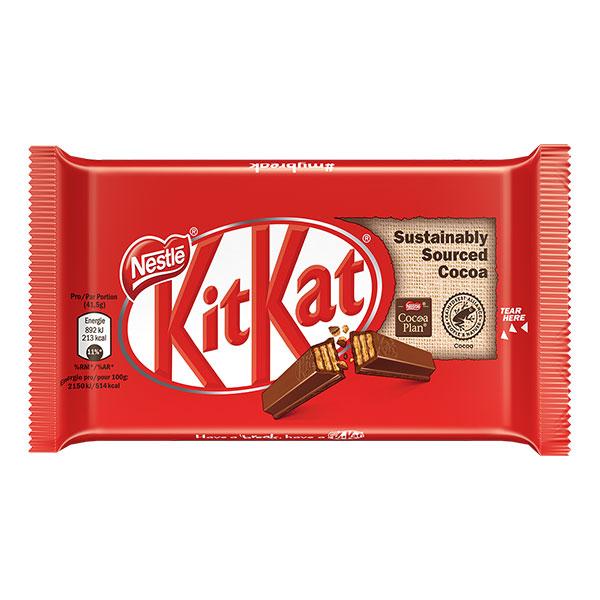 Десерт Kit Kat Finger млечен шоколад 41,5гр.