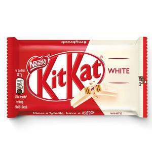 Десерт Kit Kat Finger бял шоколад 41,5гр.