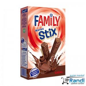 Мини вафли Family Stix какао 155гр.