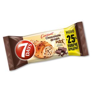Кроасан 7days Шоколад Дропс Max 100гр.