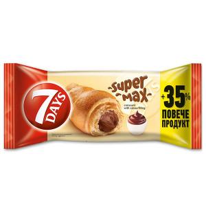 Кроасан 7days Super Max какао 150гр.