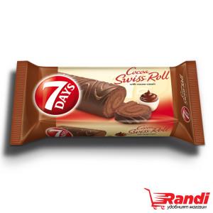 Руло глазура какао 7Days 200гр.