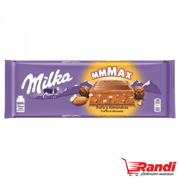 Шоколад Milka Almond Truffle 300гр.