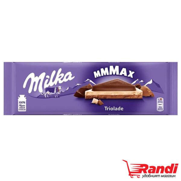 Шоколад Мilka Triolade 280гр.