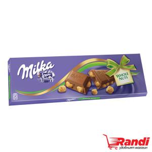 Шоколад Milka Цели лешници 250гр.