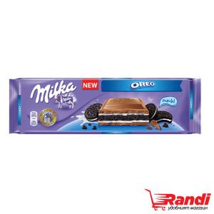 Шоколад Milka Oreo 300гр.