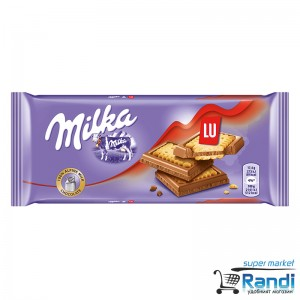 Шоколад Milka LU 87гр.