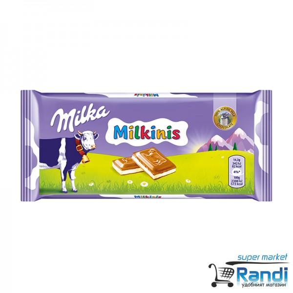 Шоколад Milka Milkinis 100гр.