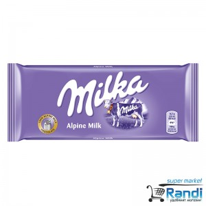 Шоколад  Milka млечен 100гр.