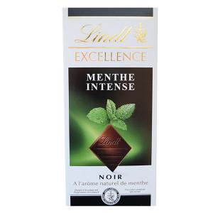 Шоколад Lindt Excellence Intense мента 100гр.