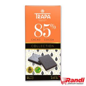 Шоколад тъмен 85% какао Веган Trapa 85гр.