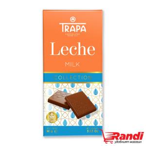Шоколад млечен Trapa 90гр.